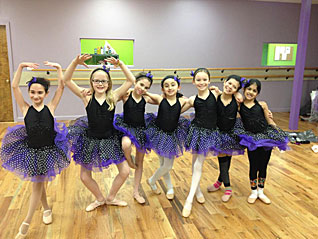 purple black ballet
