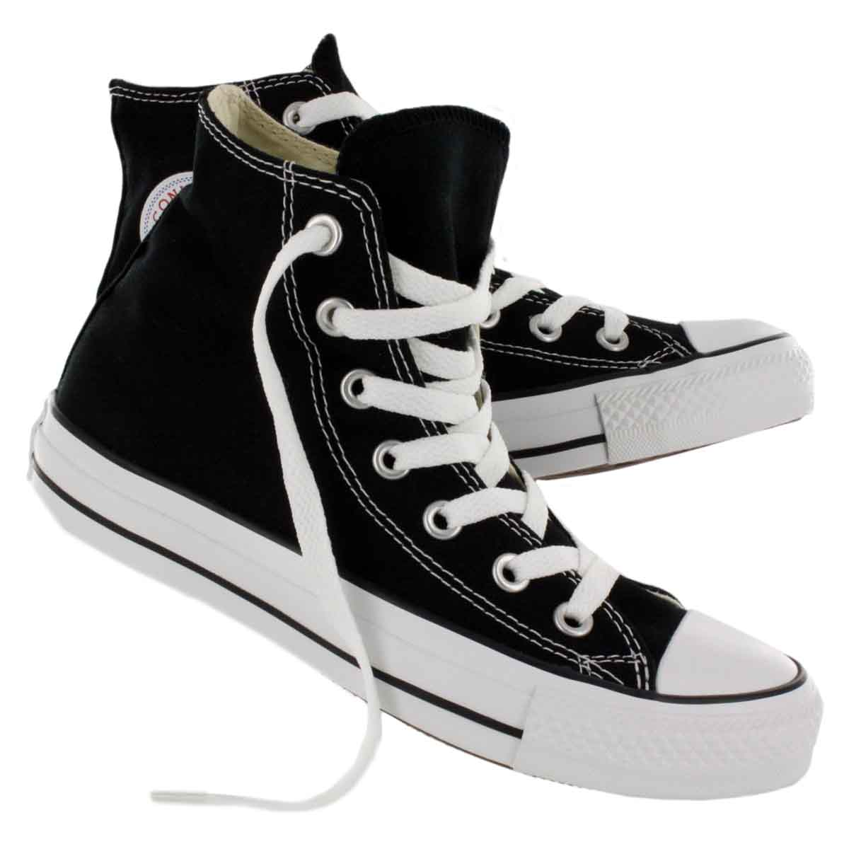 converse shoes for girls black. converse chuck taylor hi-top shoes for girls black a