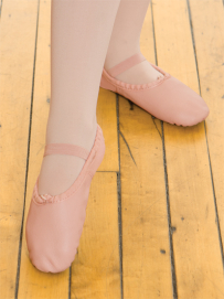 Full-Sole Tie Ballet Shoes